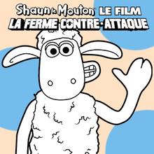 Coloriage : Shaun Le Mouton 1