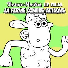 Coloriage : Shaun Le Mouton 2