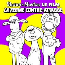 Coloriage : Shaun Le Mouton 3