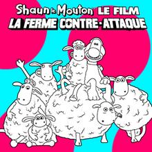 Coloriage : Shaun Le Mouton 4