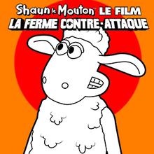 Coloriage : Shaun Le Mouton 5