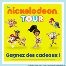 Gagne des goodies Nickelodeon Junior et Nickelodeon !