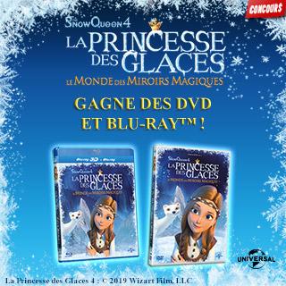 Concours DVD La princesse des glaces