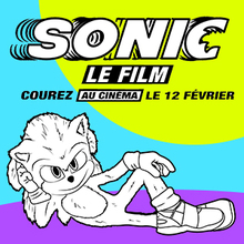 Coloriage Sonic 1