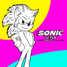Coloriage Sonic 3