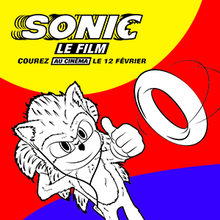 Coloriage Sonic 4