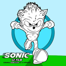 Coloriage Sonic 5