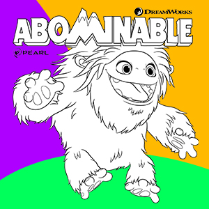 Coloriage Abominable