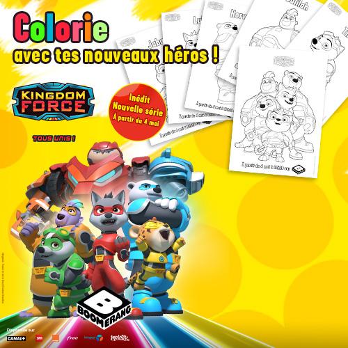 Coloriage Kingdom Force