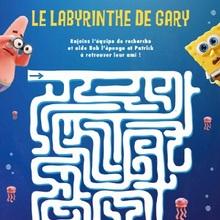 Le labyrinthe de BOB L'EPONGE