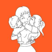 Câlin pour maman