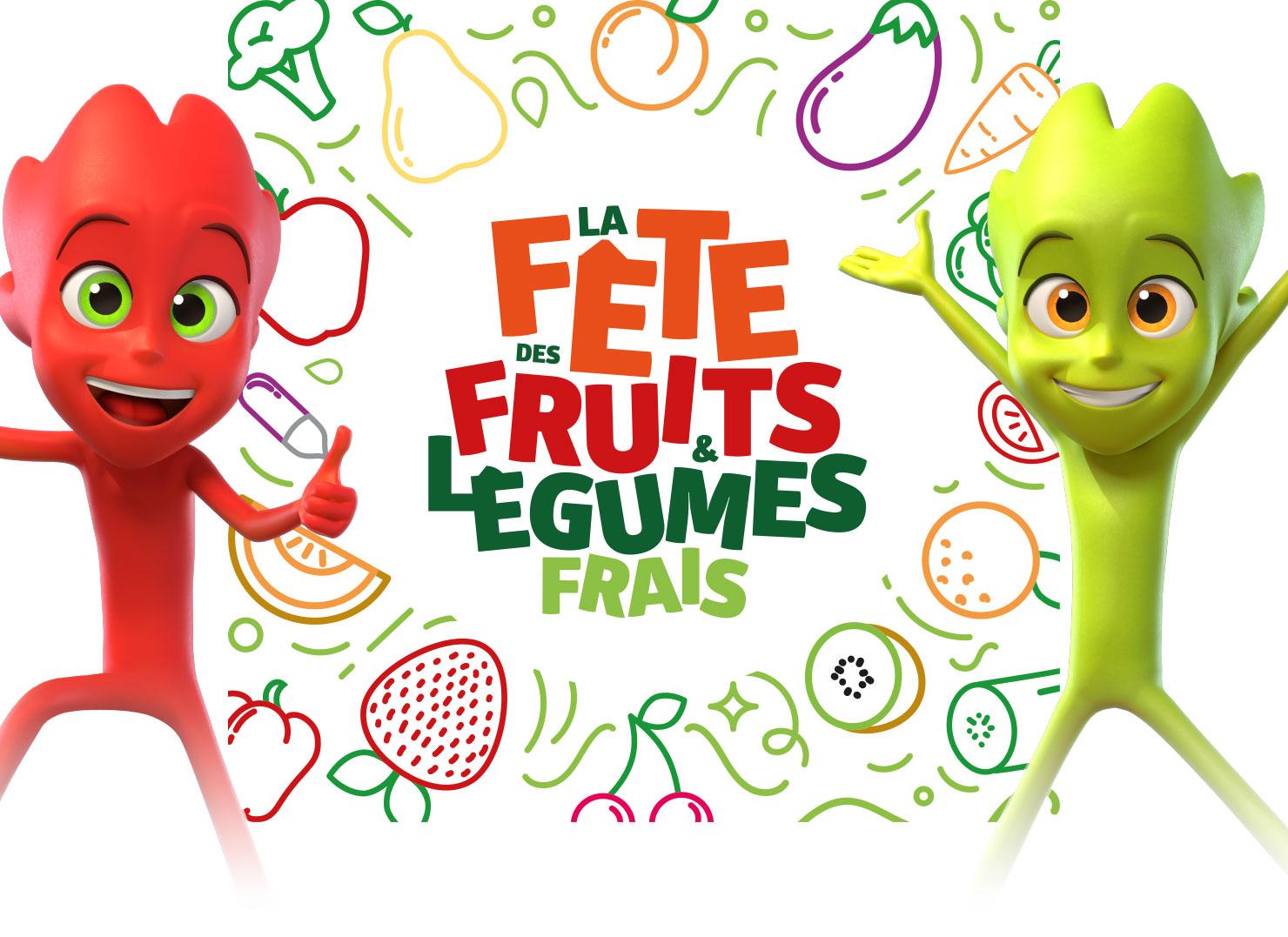 Bienvenue à la FÊTE DES FRUITS ET LÉGUMES FRAIS !