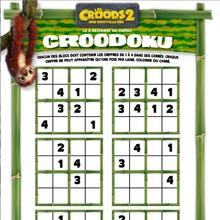 Sudoku - LES CROODS 2