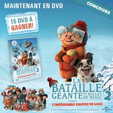 Gagne des DVD de La Bataille Géante de boules de neige 2 !