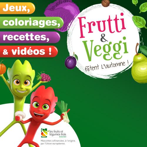 Fruits et légumes d'auomne