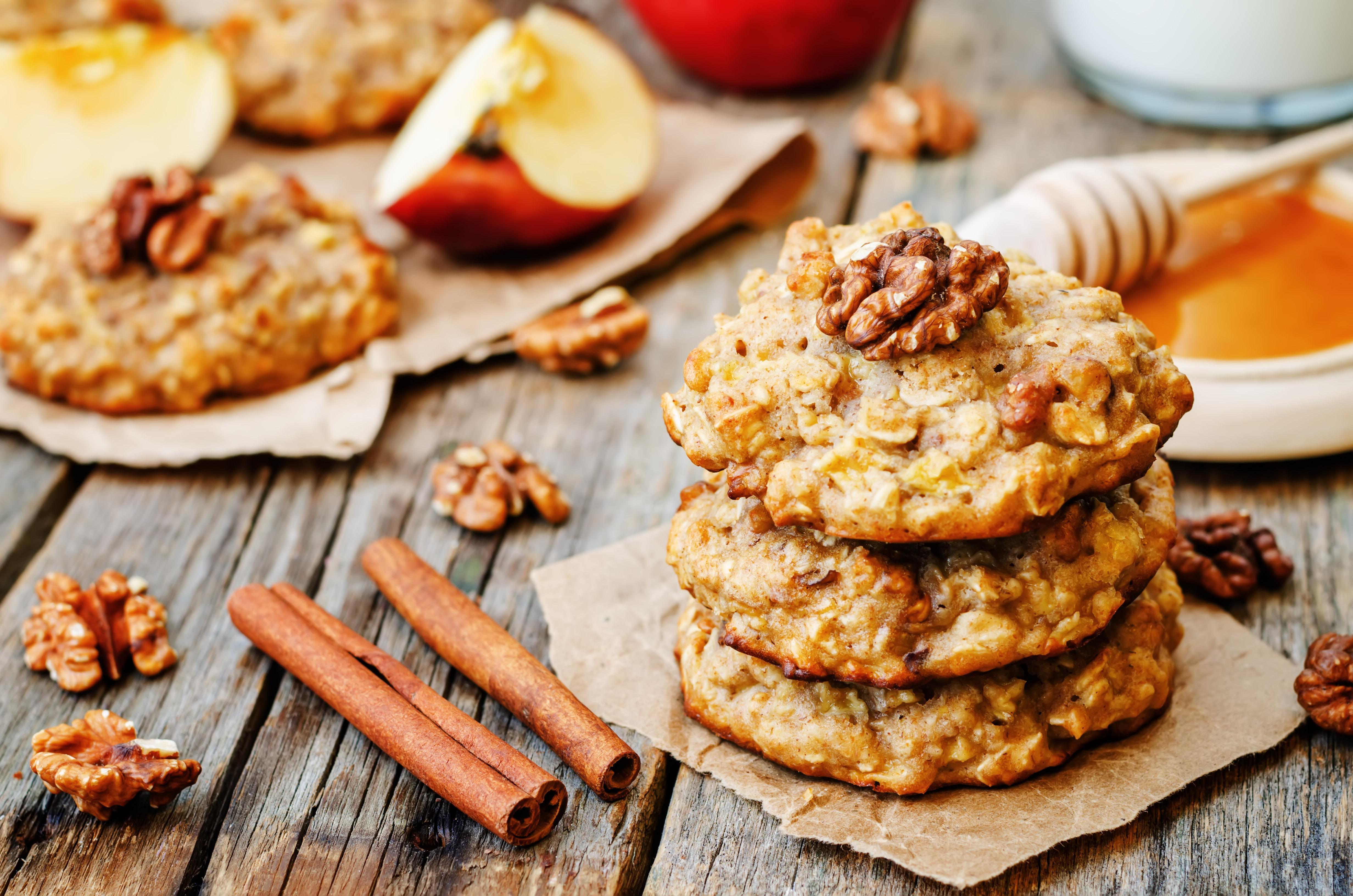 Cookie pomme-noix