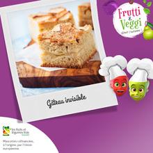 Recette : Le gâteau invisible pommes-poires