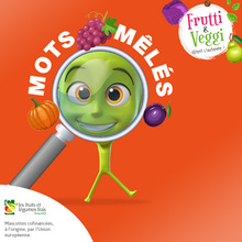 Les mots-mêlés de Frutti & Veggi