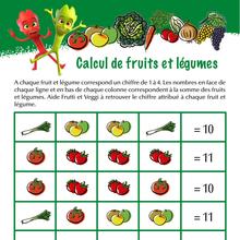 Jeu : Calcul de fruits et légumes