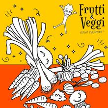 Coloriage : Les légumes racines