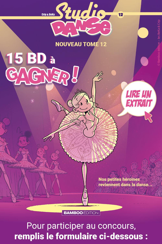 Gagne des BD de Studio Danse !