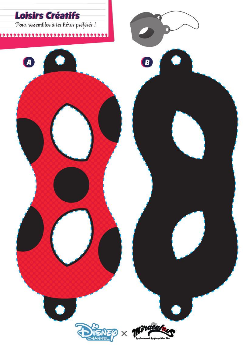 Masque Ladybug et Chat Noir (1)