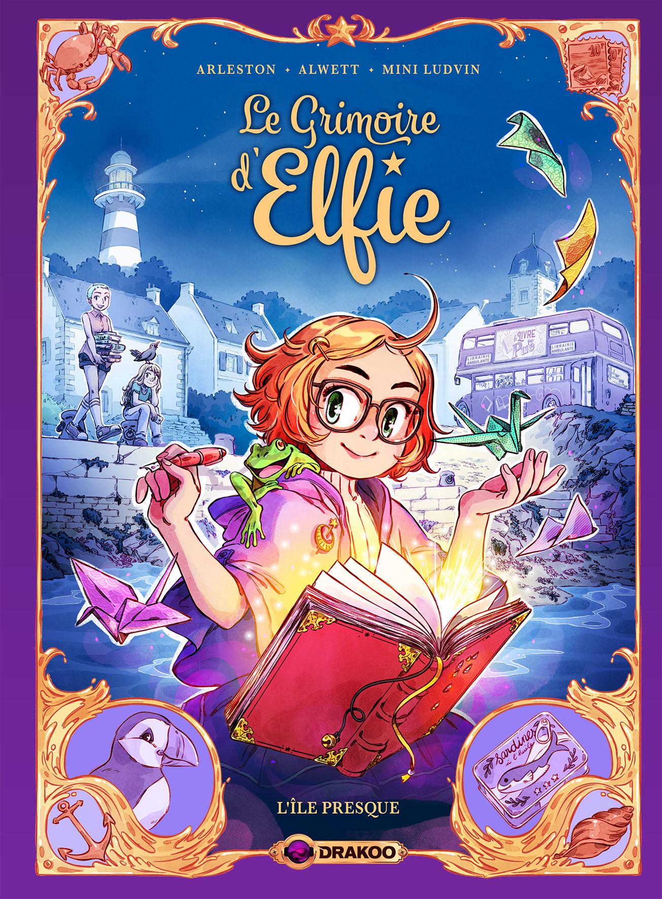 LE GRIMOIRE D'ELFIE TOME 1