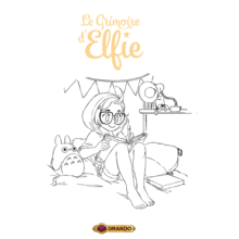 COPIE DE Coloriage Le Grimoire d'Elfie