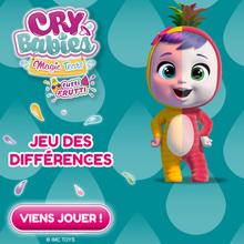 Le jeu des différences des CRY BABIES MAGIC TEARS !