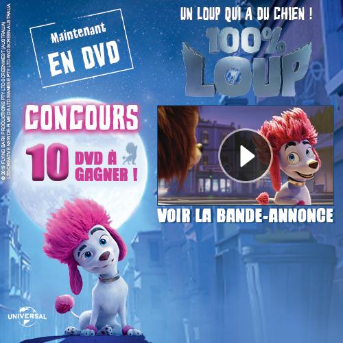DVD 100% LOUP