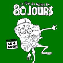 Coloriage LE TOUR DU MONDE EN 80 JOURS