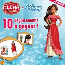 Jeu concours : Gagne des déguisements Elena d'Avalor avec Disney Channel !