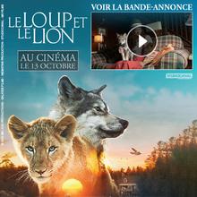 Coloriage LE LOUP ET LE LION