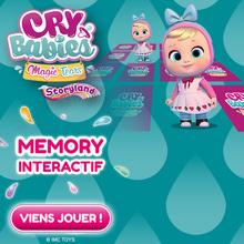Le jeu de memory des CRY BABIES STORYLAND !