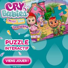 Le puzzle des CRY BABIES STORYLAND !