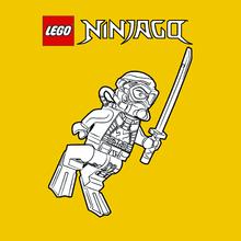 Coloriage LEGO Ninjago 10