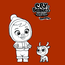 Coloriage : Cry Babies Magic Tears STORYLAND - Claus et Rhen