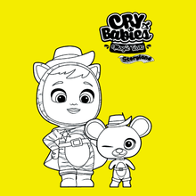 Coloriage : Cry Babies Magic Tears STORYLAND - Martin et Maus