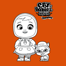 Coloriage : Cry Babies Magic Tears STORYLAND - Scarlet et Keira