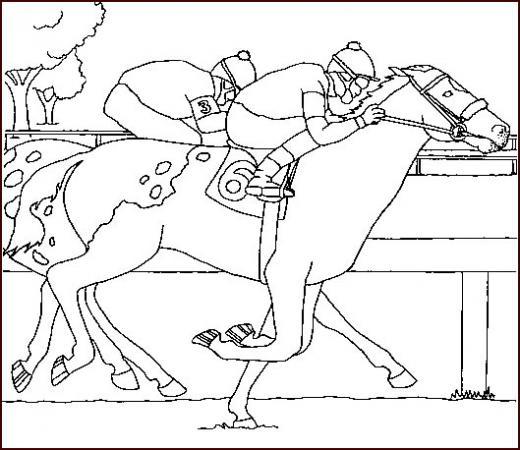 Coloriage gratuit des membres de jedessine chevaux - Jedessine coloriage ...