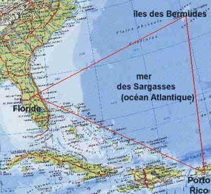 le triangle des bermude quel mystere