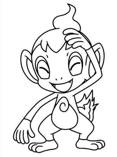 Coloriages dessin pokemon ouisticram - Pokemon ouisticram ...