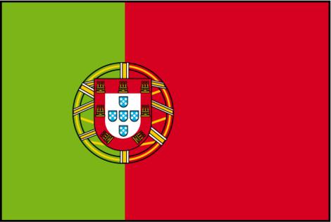 Voila et le portugal participe a l 39 euro 2008 - Coloriage drapeau portugal ...