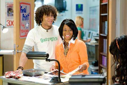 High School Musical 3 : nos années lycée - Corbin Bleu et Monica Coleman