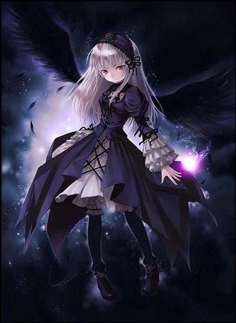 Photo de manga fille vampire