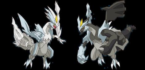 Comment dessiner kyurem - Pokemon noir et blanc personnage ...