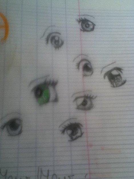 yeux mangas
