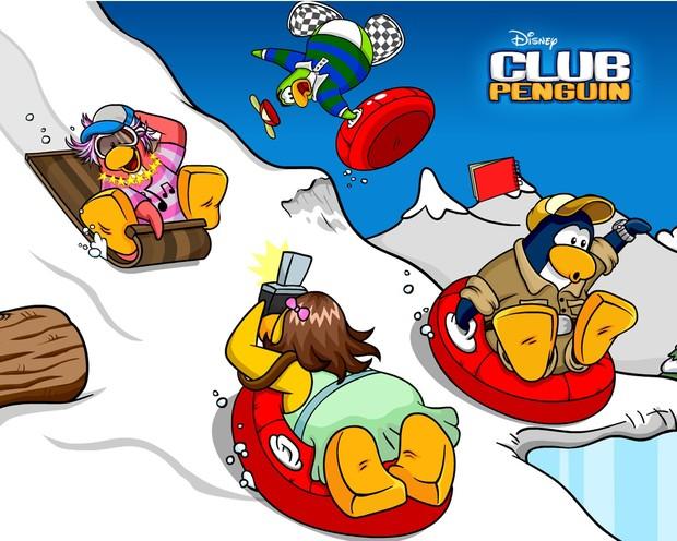 Comment dessiner les sports d 39 hiver - Jeux de club penguin gratuit ...