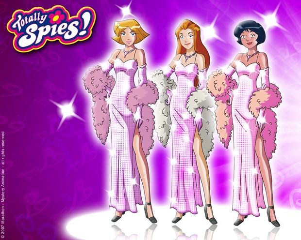 Comment dessiner les totally spies en robes de soir e fr - Comment dessiner les totally spies ...