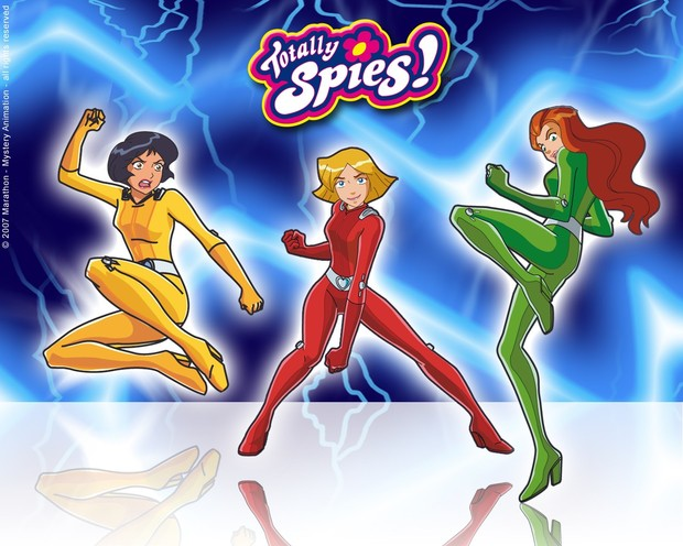 Comment dessiner les totally spies - Dessin anime de totally spies ...
